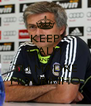 KEEP CALM AND TU MADRE MOURINHO - Personalised Poster A4 size
