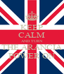 KEEP CALM AND TURN THE ARANCIA POWER ON - Personalised Poster A4 size