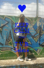KEEP CALM AND T.V.B. Selene - Personalised Poster A4 size