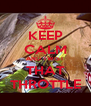 KEEP CALM AND TWIST THAT THROTTLE - Personalised Poster A4 size