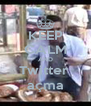 KEEP CALM AND Twitter  açma - Personalised Poster A4 size