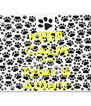 KEEP CALM AND Tyler & Alfie!!! - Personalised Poster A4 size