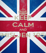 KEEP CALM AND UMISLJEN 1950  - Personalised Poster A4 size