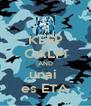 KEEP CALM AND unai  es ETA - Personalised Poster A4 size