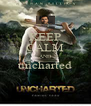 KEEP CALM AND uncharted  - Personalised Poster A4 size