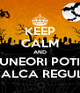 KEEP CALM AND UNEORI POTI INCALCA REGULILE - Personalised Poster A4 size
