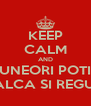 KEEP CALM AND UNEORI POTI INCALCA SI REGULILE - Personalised Poster A4 size