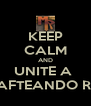 KEEP CALM AND UNITE A  MINECRAFTEANDO RANDOM - Personalised Poster A4 size