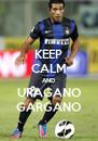 KEEP CALM AND URAGANO GARGANO - Personalised Poster A4 size
