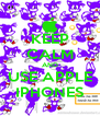 KEEP CALM AND USE APPLE IPHONES - Personalised Poster A4 size