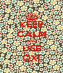 KEEP CALM AND USE OXI - Personalised Poster A4 size
