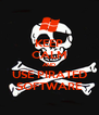 KEEP CALM AND USE PIRATED SOFTWARE - Personalised Poster A4 size