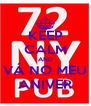 KEEP CALM AND VÁ NO MEU ANIVER - Personalised Poster A4 size