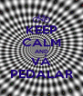 KEEP CALM AND VÁ PEDALAR - Personalised Poster A4 size