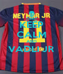 KEEP CALM AND VADLI JR  - Personalised Poster A4 size