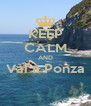 KEEP CALM AND Vai a Ponza  - Personalised Poster A4 size