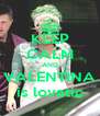 KEEP CALM AND VALENTINA is lovatic - Personalised Poster A4 size