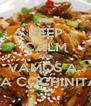 KEEP CALM AND VAMOS A  LA COCHINITA - Personalised Poster A4 size