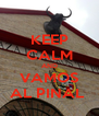 KEEP CALM AND VAMOS AL PINAL  - Personalised Poster A4 size
