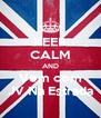 KEEP CALM AND Vem com JV Na Estrada - Personalised Poster A4 size