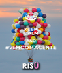 KEEP CALM AND #VEMCOMAGENTE  - Personalised Poster A4 size