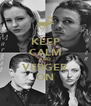KEEP CALM AND VERGER ON - Personalised Poster A4 size