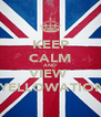 KEEP CALM AND VIEW   YELLOWATION - Personalised Poster A4 size