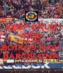 KEEP CALM AND VINYU BARCA BOIXOS NOIS BARCELONA - Personalised Poster A4 size