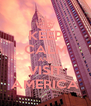 KEEP CALM AND VISIT AMERICA - Personalised Poster A4 size
