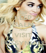 KEEP CALM AND VISIT @iPUSSYNIALLER - Personalised Poster A4 size