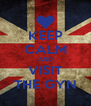 KEEP CALM AND VISIT THE GYN - Personalised Poster A4 size