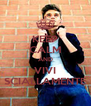 KEEP CALM AND VIVI SCIALLAMENTE - Personalised Poster A4 size