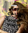 KEEP CALM AND Vogue Vogue - Personalised Poster A4 size