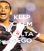 KEEP CALM AND VOLTA DIEGO  - Personalised Poster A4 size