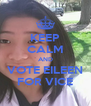 KEEP CALM AND VOTE EILEEN FOR VICE - Personalised Poster A4 size
