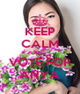 KEEP CALM AND VOTE FOR ANYA - Personalised Poster A4 size