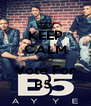 KEEP CALM AND Vote For B5  - Personalised Poster A4 size
