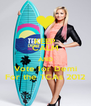 KEEP CALM AND Vote for Demi For the TCAs 2012 - Personalised Poster A4 size