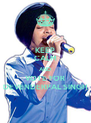 KEEP CALM AND VOTE FOR DEVENDERPAL SINGH - Personalised Poster A4 size