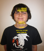 KEEP CALM AND VOTE FOR MAGNUS - Personalised Poster A4 size