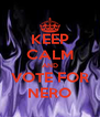 KEEP CALM AND VOTE FOR NERO - Personalised Poster A4 size