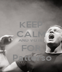 KEEP CALM AND VOTE FOR  Patterso - Personalised Poster A4 size