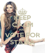 KEEP CALM AND VOTE FOR STANA - Personalised Poster A4 size