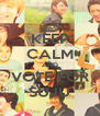 KEEP CALM AND VOTE FOR SUJU - Personalised Poster A4 size