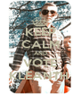 KEEP CALM AND VOTE KLEANTH  - Personalised Poster A4 size