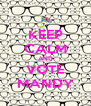 KEEP CALM AND VOTE MANDY - Personalised Poster A4 size