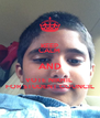 KEEP CALM AND VOTE NIKHIL  FOR STUDENT COUNCIL - Personalised Poster A4 size