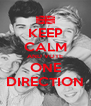 KEEP CALM AND VOTE ONE DIRECTION - Personalised Poster A4 size