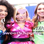 Keep Calm and vote SweetSuspense - Personalised Poster A4 size