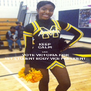 KEEP CALM AND VOTE VICTORIA FOR 1ST STUDENT BODY VICE PRESIDENT - Personalised Poster A4 size